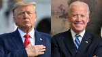 Trump, Biden go on offense in states they are trying to flip