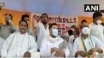 Bihar poll 2020: Slippers thrown at RJD's Tejashwi Yadav during election rally in Bihar's Aurangabad
