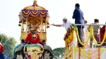 Jamboo Savari: Curtains come down on Dasara celebrations without crowds