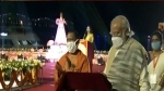 PM Modi lights the first diya of Dev Deepawali