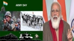 Held the nation's high with pride: PM Modi extends greetings on Army Day