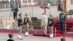 PM Modi accords Guard of Honour at rally of NCC at Cariappa Ground
