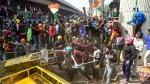 As farmers turn violent, Delhi Police issue fresh traffic alert