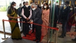 EAM inaugurates new chancery building of Indian High Commission in Mauritius
