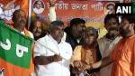 TMC leader Jitendra Tiwari joins BJP as exodus continues