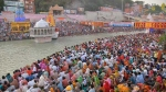 Kumbh Mela 2021 in Haridwar: Thousands of devotees take holy dip in Ganga on Shahi Snan as COVID virus surges