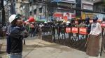 Myanmar junta attacks again
