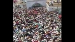 Watch: Thousands join funeral of cleric leader in UP's Badaun, COVID norms flouted; FIR filed