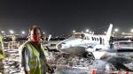 Air ambulance loses wheel during takeoff; Safely belly-lands at Mumbai airport