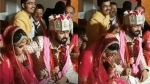 Viral video: Groom rests hand on shoulder of bride, Check what happens next