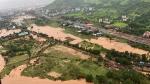 WATCH: Himachal bridge hit by boulders rolling down hill