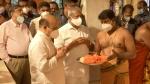 Karnataka CM-designate Basavaraj Bommai offers prayers ahead of oath-taking ceremony at 11am today