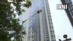 Fire breaks out at 60-storey Avighna park building in Mumbai, 1 dead