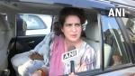 Priyanka Gandhi stopped from meeting family of man who died in police custody