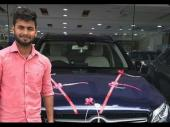 Rishabh Pant buys new Mercedes
