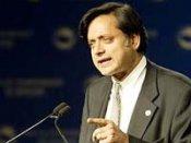 Oppn slams Tharoor, demands PM's clarification