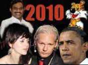 Scams, Obama, WikiLeaks & Yana make 2010 spicy