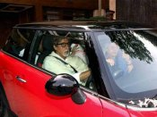 Amitabh Bachchan, Abhishek injured while visiting Thackeray