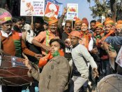 See Pics: Gujarat celebrates Narendra Modi's victory