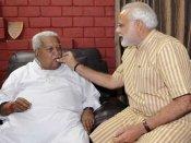Modi seeking to better Keshubhai's record in Guj in LS polls