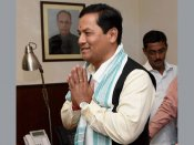 Sarbananda Sonowal takes charge as sports minister