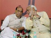 Too early to blame Naxals for Rajdhani derailment: Rajnath Singh