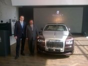 Rolls-Royce launches Ghost Series II at Rs 4.50 cr
