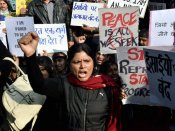 Protest in Delhi against 'attacks' on churches