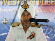 Vice Admiral S.P.S Cheema new chief of Western Naval Command