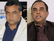 Dharam Sankat Mein: 'Unofficial' Subramanian Swamy lashes out at BJP MP Paresh Rawal