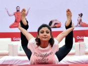In Pics: How politicians celebrated maiden International Day of Yoga