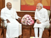 Naga peace accord: Deve Gowda compliments PM Modi