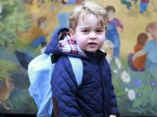 First day at nursery for Britain's Prince George