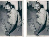 Was PM Modi's much hyped floor sweeping photo fake?