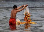 Clean Ganga: Brainstorming with 1,600 village heads on Jan 30