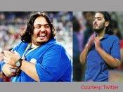 Viral pics: Mukesh Ambani's son Anant Ambani loses 108 kgs;Twitterati applaud his 'new look'