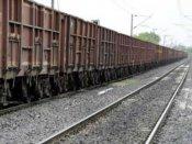 9 coaches of goods train derail in Odisha