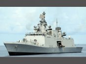 INS Satpura anchors at Hawaii for Exercise RIMPAC