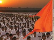 Lord Swaminarayan idol dressed in RSS uniform sparks a row