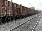 9 coaches of goods train derail in Odisha