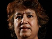 Sheikh Hasina not doing anything to protect minorities: Taslima Nasreen