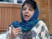 Mehbooba says gun no solution, blames successive central govts