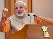 Narendra Modi attends Townhall organised by MyGov
