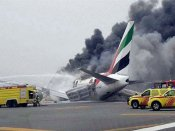 Emirates flight crash-lands at Dubai airport; all passengers safe