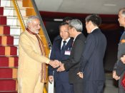 Pics: Modi on a special visit to Vietnam
