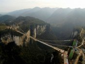 World's highest glass bridge to reopen in October