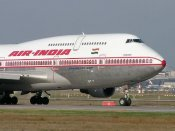 AI plane suffers tyre burst; passengers safe