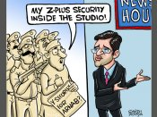 In Pics: Past one week through the eyes of a cartoonist