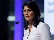 Haley backs Trump, says US committed to curbing climate change