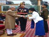 Soldier's widow receives Ashok Chakra